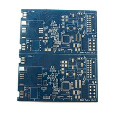 Smart Water Meter Blue 100.6x96.5mm PCB Prototype